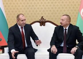 Bolqarıstan Prezidenti İlham Əliyevə zəng edib