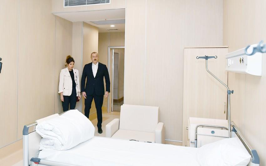 """İlham Əliyev """"Yeni klinika"""" tibb müəssisəsinin açılışında iştirak edib - YENİLƏNİB-2"""
