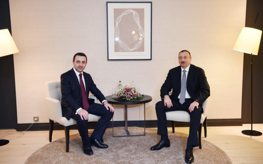 Qaribaşvili Azərbaycan prezidentini Gürcüstana səfərə dəvət edib