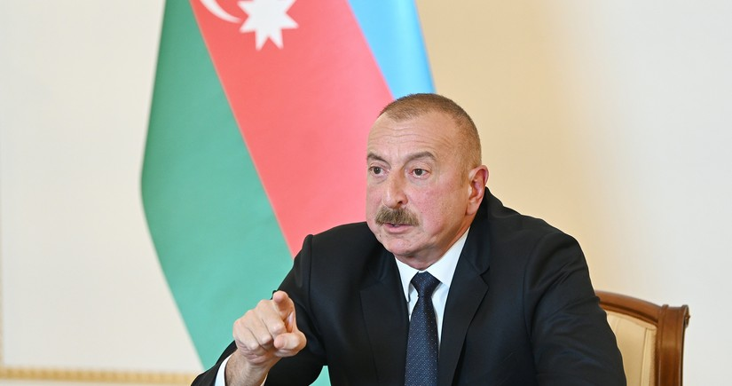 President: It is fight between us and Armenia, everyone must stay away from it