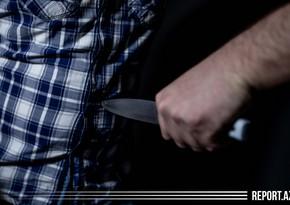Biləsuvarda kişi yeznəsini bıçaqlayaraq öldürdü
