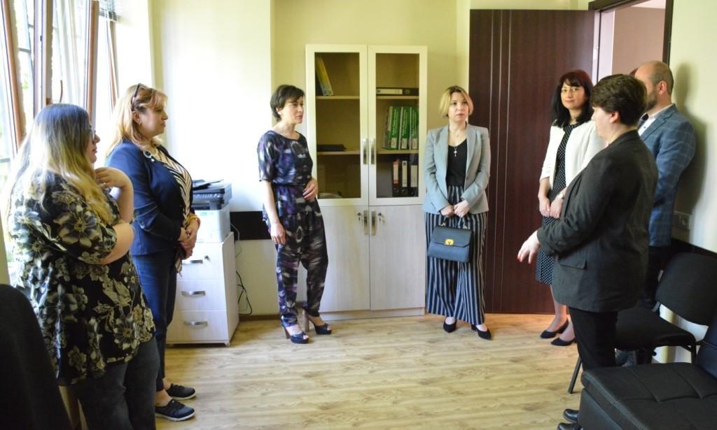 Gürcüstan ombudsmanı azərbaycanlıların inteqrasiya prosesi ilə tanış olub