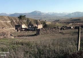 Footage from Baharli village of Zangilan