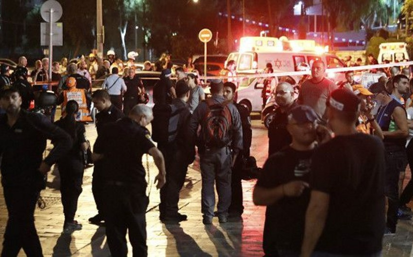 Tel-Əvivin mərkəzində terror aktı zamanı 4 nəfər ölüb