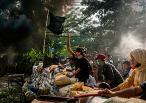 Жертвами столкновений в Мьянме стали еще 98 человек