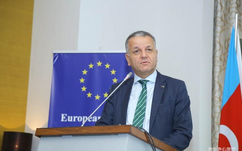 Vassilis Maraqos: Azərbaycanda layihələrin maliyyələşdirilməsi gələcəyə yatırımdır