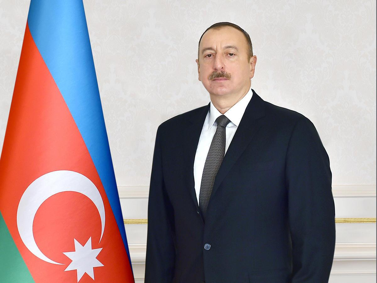 President Ilham Aliyev was interviewed by Chinese Xinhua agency