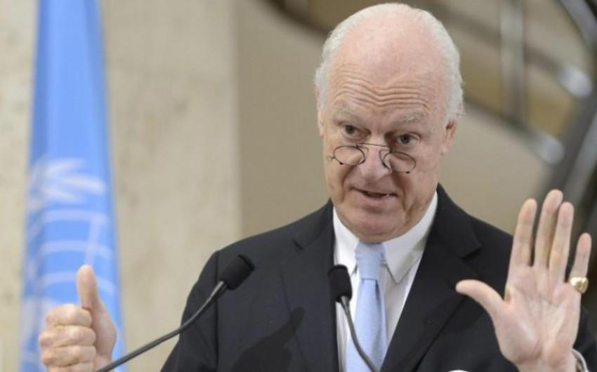 BMT baş katibinin xüsusi təmsilçisi: Suriyada federal dövlətin yaradılması məsələsi də müzakirə edilə bilər