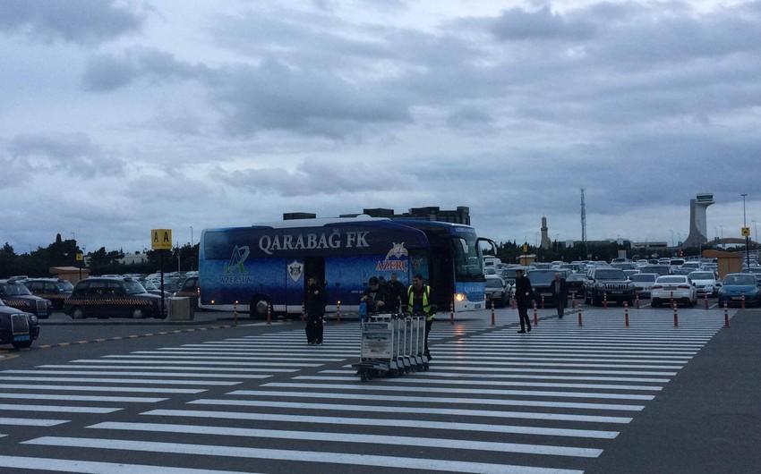 Qarabağ klubu Ukraynaya yola düşüb