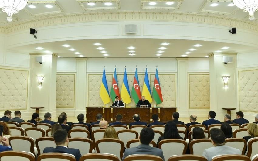 Prezident: Şərq-Qərb və Şimal-Cənub nəqliyyat dəhlizləri beynəlxalq əməkdaşlıq üçün yeni imkanlar açır