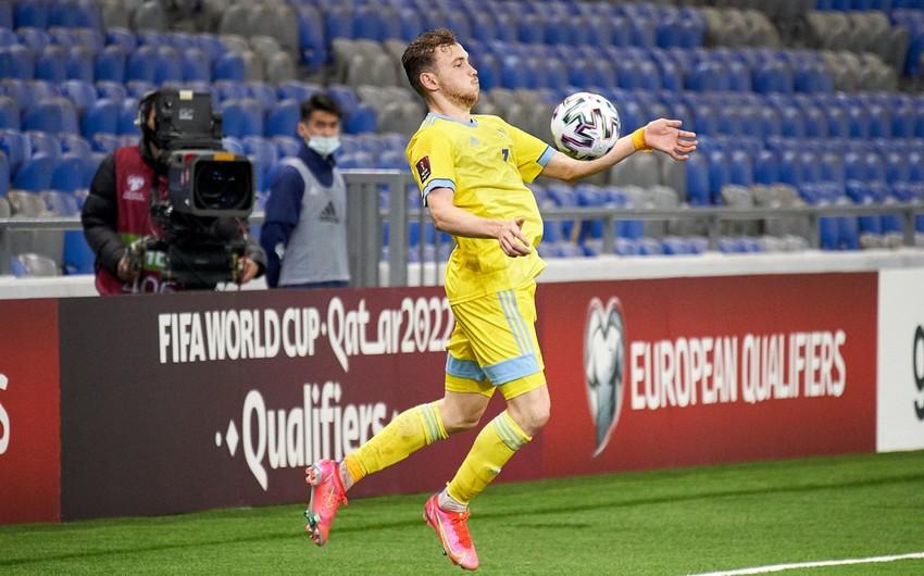 Qazaxıstan millisinin futbolçusunda dopinq aşkarlanıb