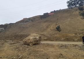 FHN: Badamdarda sürüşmə hadisəsi baş verib