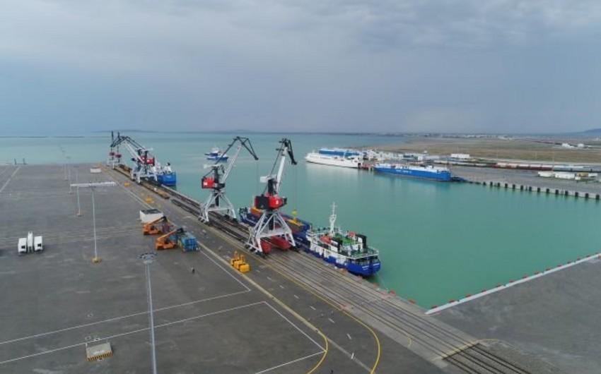 Bakı Limanının yük dövriyyəsi 19% artıb