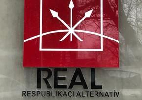 ReAL-ın təmsilçisi MSK üzvlüyünə namizədlər siyahısına salınmayıb