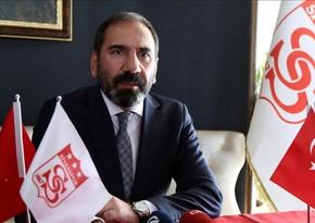 Sivassporun prezidenti: Önəmli olan 3 xal qazanmaq idi