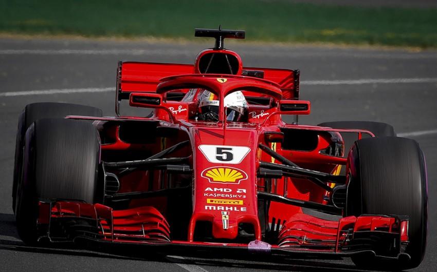Sebastyan Fettel Formula 1 üzrə Melburn Qran-prisinin qalibi olub