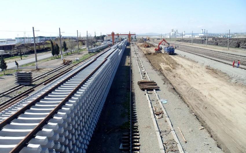 Azərbaycan dəmir yolunun istehsalat bazasını yenidən qurur