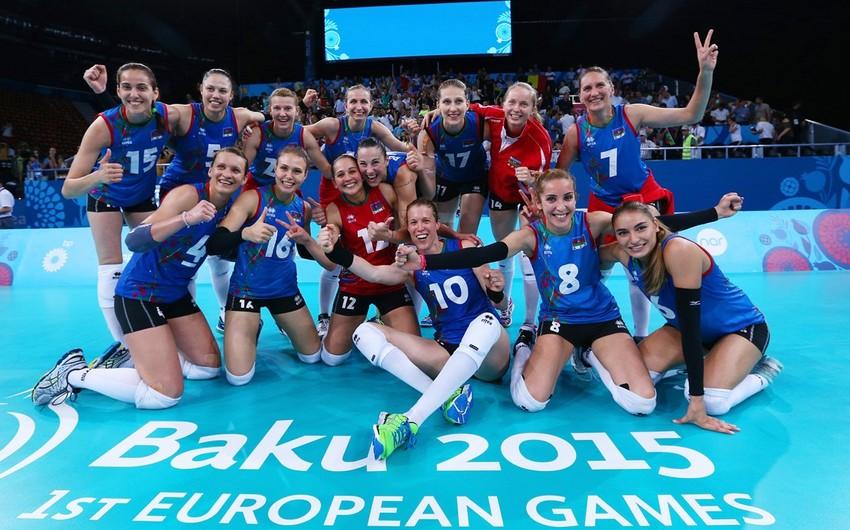 I Avropa Oyunlarında medal qazanan ölkələr - SİYAHI