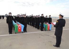 В Военно-морских силах состоялась церемония принятия военной присяги