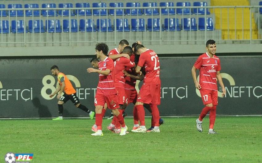 Футбольный клуб Зира одержал победу над командой Габала