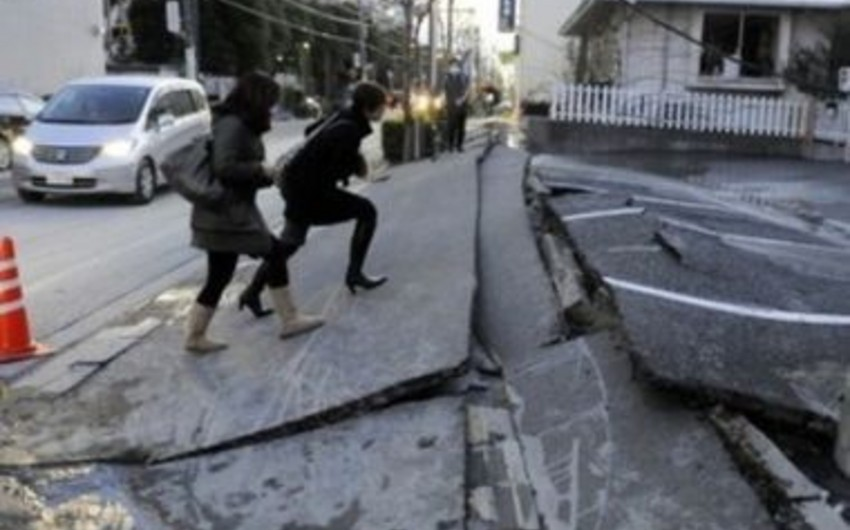 В Японии произошло землетрясение мaгнитудoй 6,8