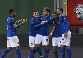 İtaliya yığmasının 3 futbolçusu heyətdən kənarlaşdırıldı
