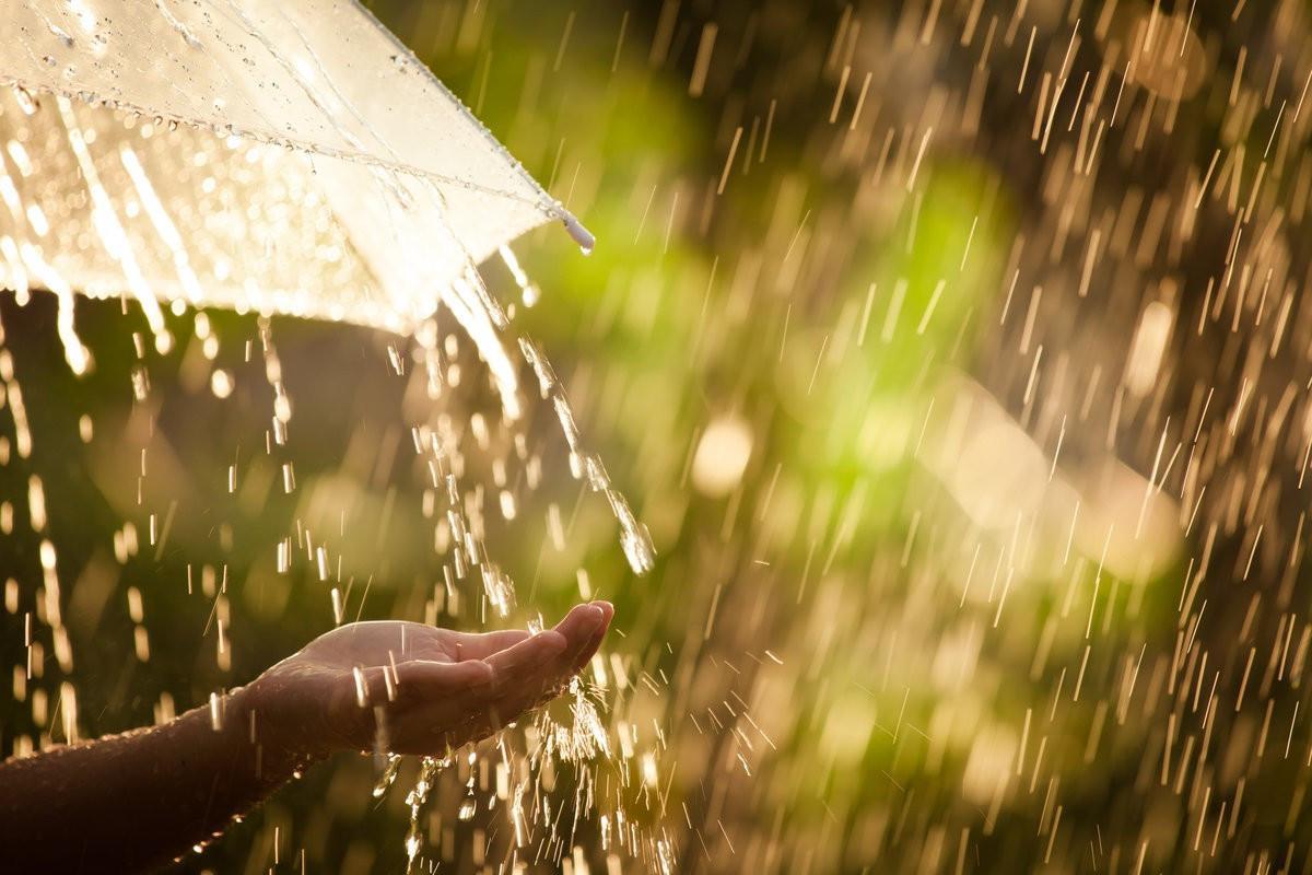 Bölgələrdə şimşək çaxıb, yağış yağıb - FAKTİKİ HAVA