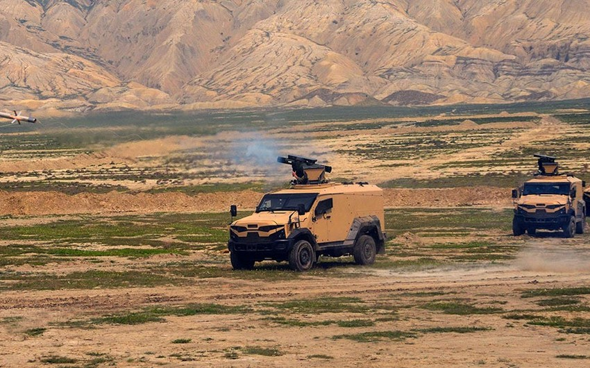 Missile units of Azerbaijan Army conducts practical firing exercises