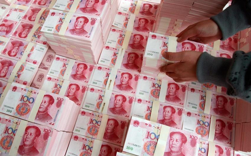 Çinin valyuta ehtiyatları 6 illik minimuma enib