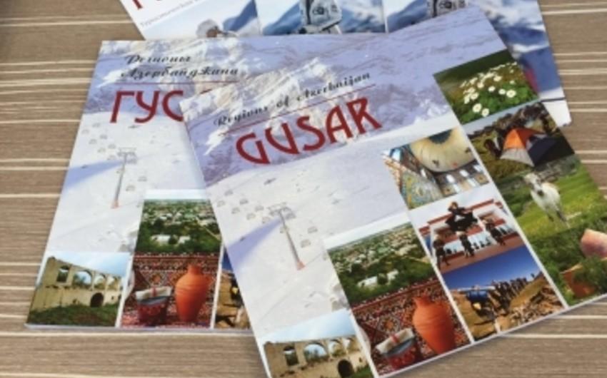 Azərbaycan, rus və ingilis dillərində Qusarın turist xəritəsi hazırlanıb