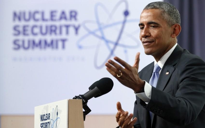 Обама: Азербайджан - критически важный партнер в отражении угроз ядерной контрабанды и ядерного терроризма