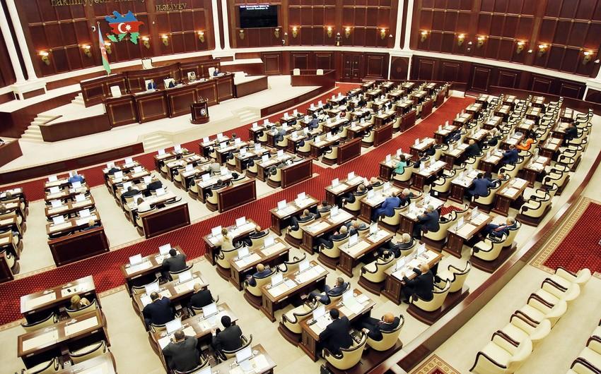 Внесено изменение в повестку Милли Меджлиса Азербайджана