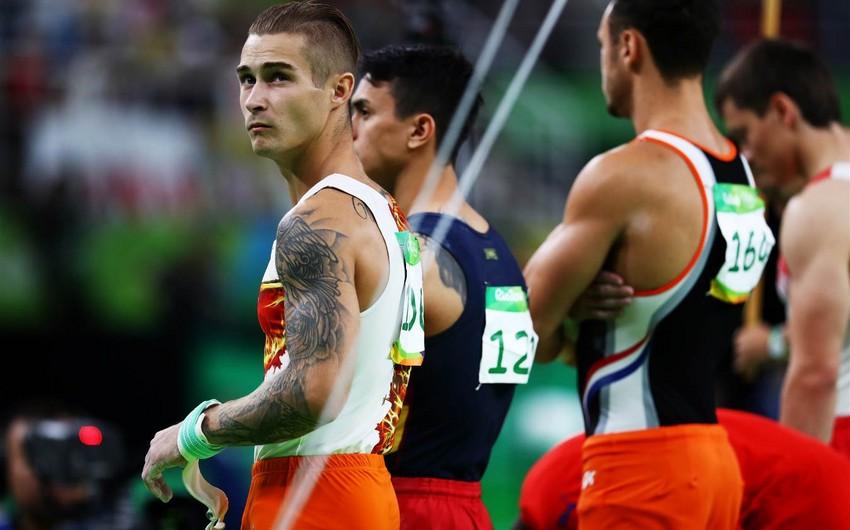 Azərbaycanın idman gimnastı Oleq Stepko Olimpiadada 22-ci olub