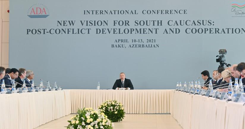 Президент Азербайджана: Карабах займет важное место в нашей экономике
