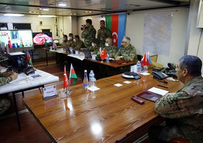 Azerbaijani and Turkish Defense Ministers observe  joint activity of automated control systems