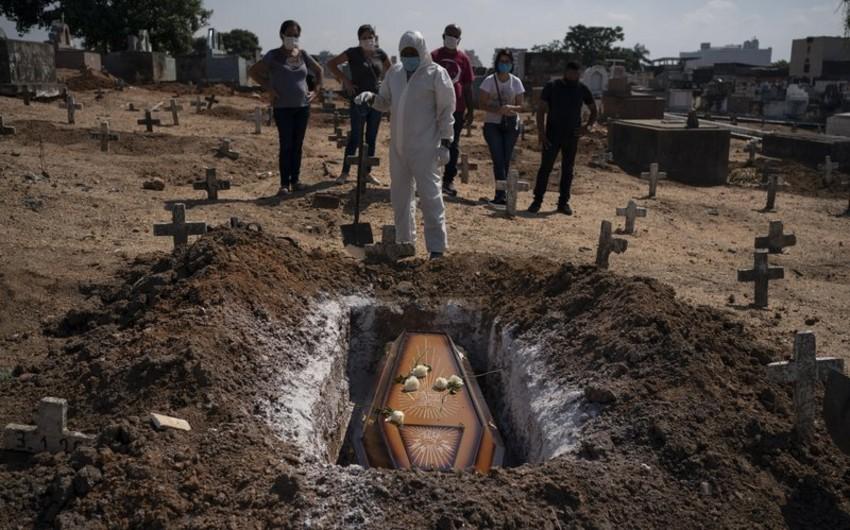 COVID-19 Braziliyada 16 minə yaxın insanın həyatına son qoydu