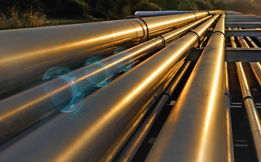 Gas pumping via Baku-Tbilisi-Erzurum pipeline up by 50%