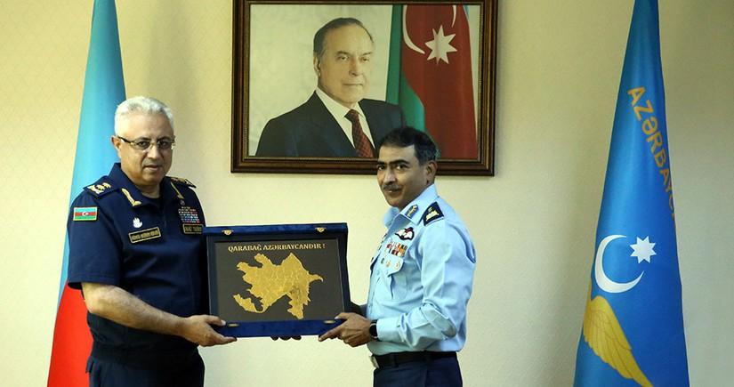 Azərbaycan və Pakistan HHQ-i arasında əməkdaşlıq məsələləri müzakirə edilib