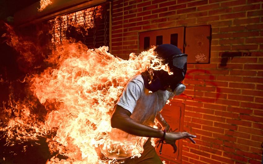 Venesuelalı fotoqraf World Press Photo müsabiqəsinin qalibi olub - FOTO