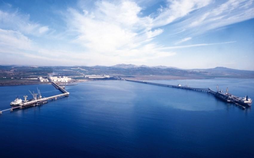 Bu il Ceyhan limanından 21 mln. ton Azərbaycan nefti dünya bazarına çıxarılıb