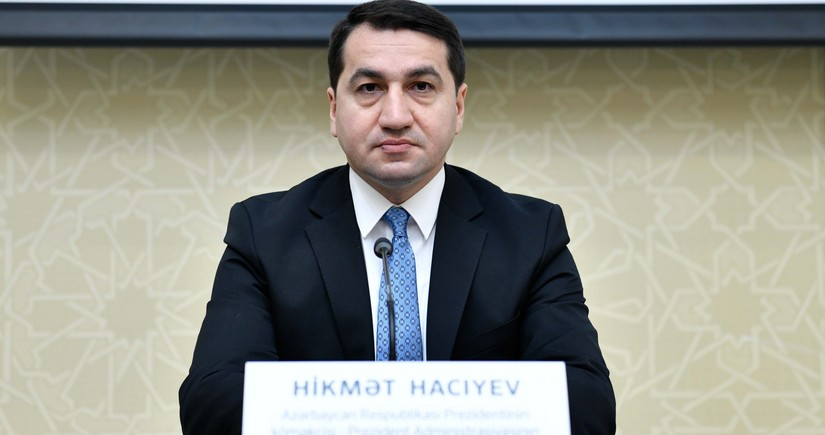 Hikmat Hajiyev: Armenia's action should be strongly condemned by international community and EU