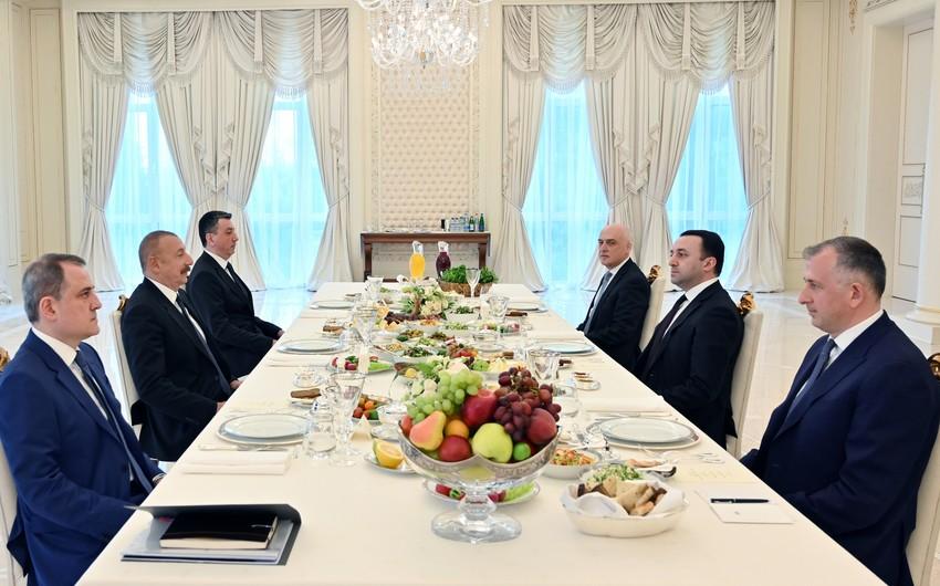 Azərbaycan Prezidenti: Xalqlarımız arasında münasibətlər uzun tarixə əsaslanır