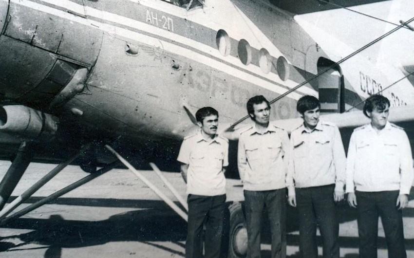 Qarabağa uçuş edən əməkdar pilotlarımız