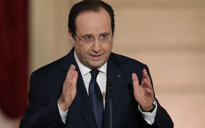 Olland: Fransada terror təhlükəsi qalmaqdadır