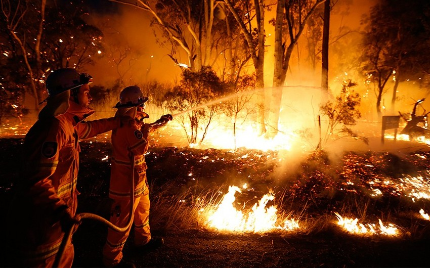 Australia wildfires: residents recommended to stay home - PHOTOS