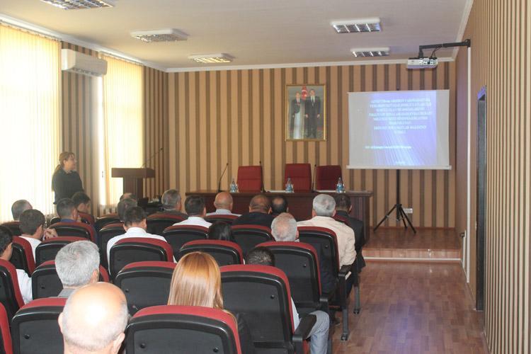 SOCAR-ın Ekoloji Məlumat Bazasının təqdimatı keçirilib