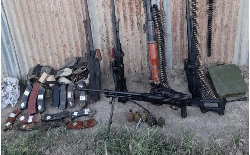 Ammunition found in Khojavand district