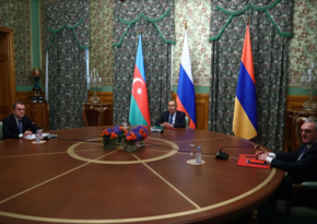 Azerbaijani, Russian, Armenian FMs make statement