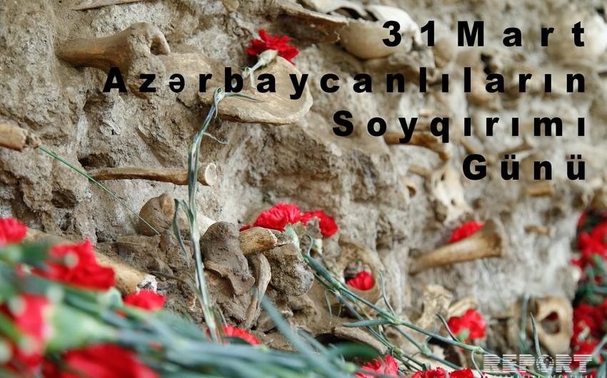 Bu gün azərbaycanlıların soyqırımından 100 il ötür