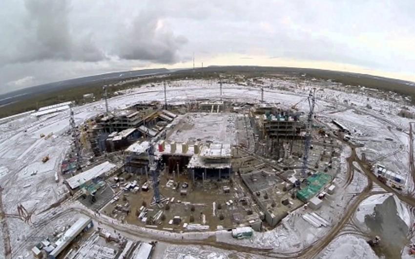 Rusiyada DÇ-2018 üçün nəzərdə tutulan stadion ərazisində yanğın baş verib